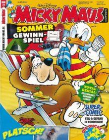 Mickey Maus, erscheint wöchentlich.