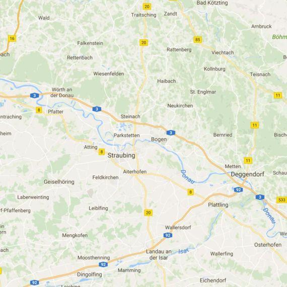 Einzugsgebiet rund um Straubing