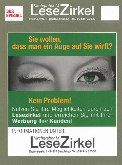 Nutzen Sie die Werbemöglichkeiten auf unseren Magazinen und Zeitschriften.